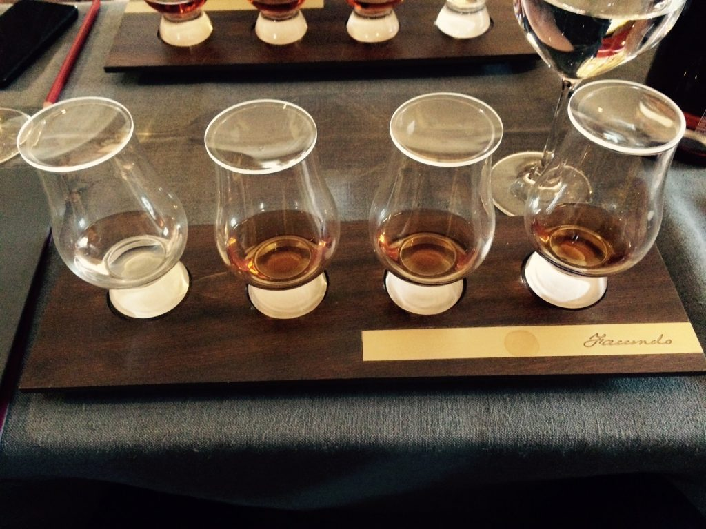 Image of Bacardi's Facundo sipping rum collection