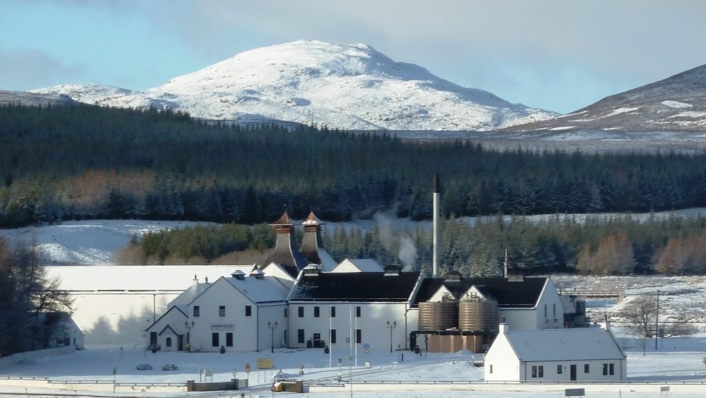 Image of Dalwhinnie Distillery, Scotland