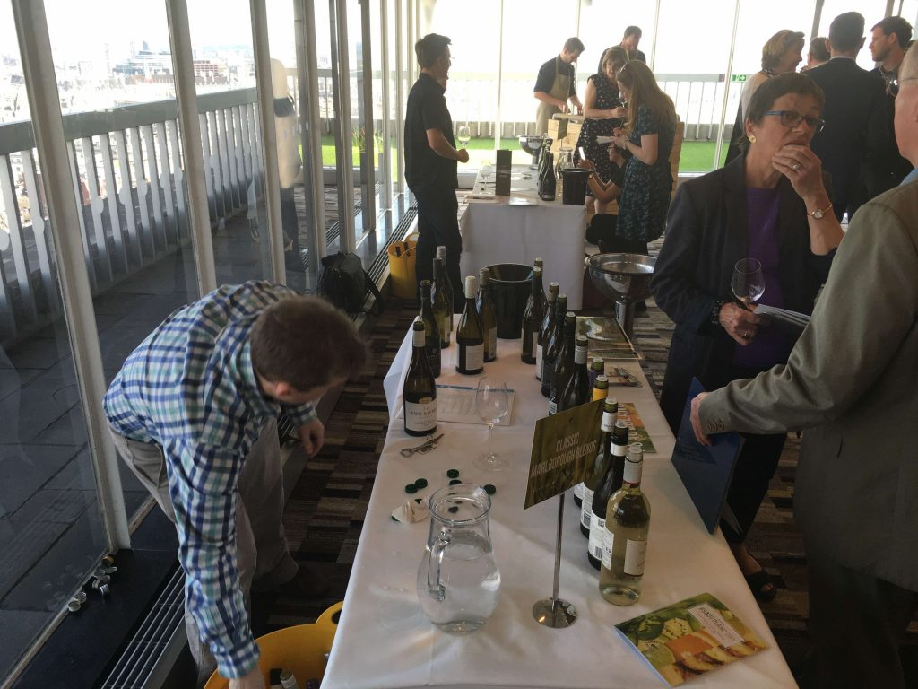 The Buyer Tasting 2015 vintage Sauvignon Blanc Day