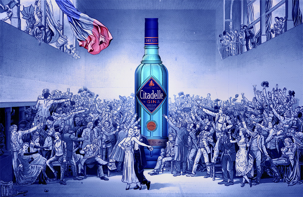 Citadelle gin is made in the same way it was in 1775