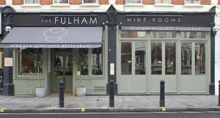 The Wine Rooms outlet in Fulham