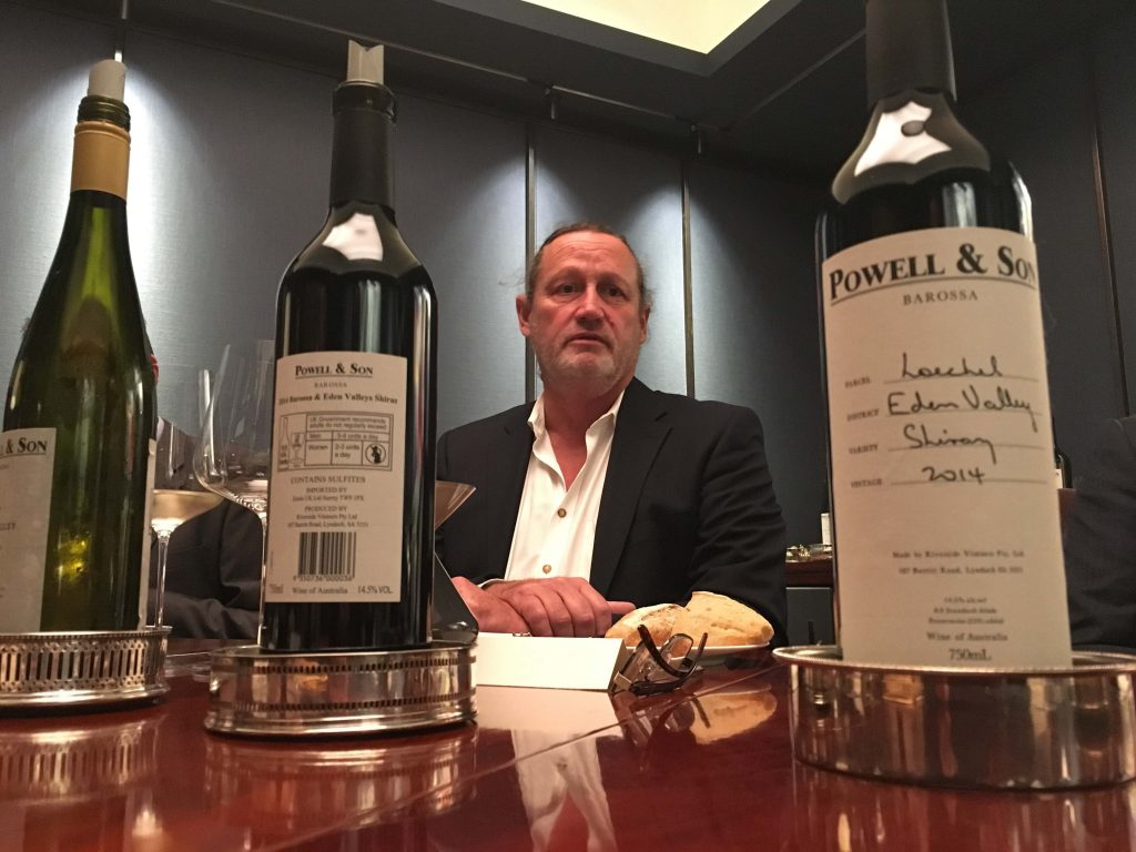 Tasting Powell & Son wines