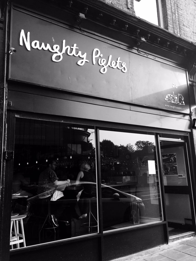 Naughty Piglets is part of the growing foodie scene in Brixton