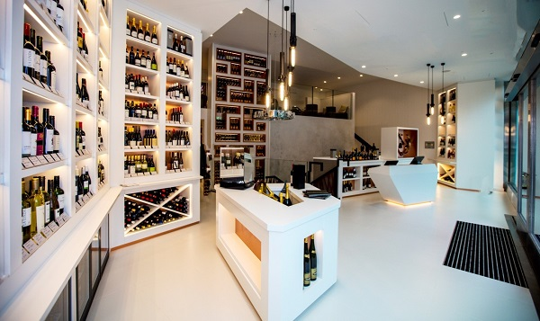 M Wine Store at Victoria offers restaurant quality wine at high street prices