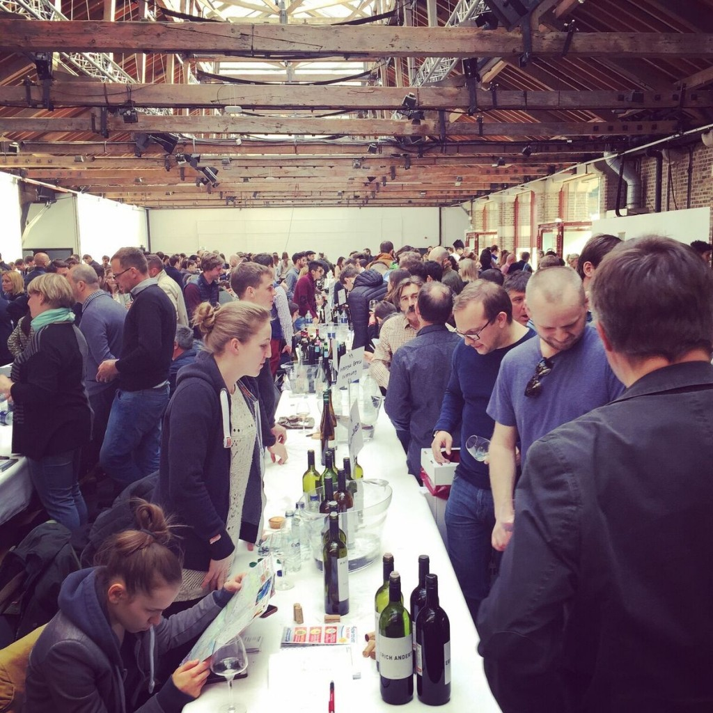 As well as the different styles of wine, the The Real Wine Fair looks to change the way big tastings are organised