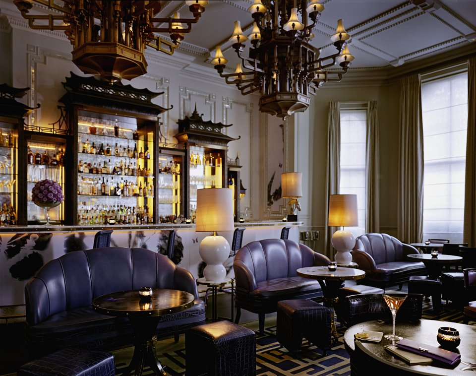 The Langham's famous award-winning Artesian bar