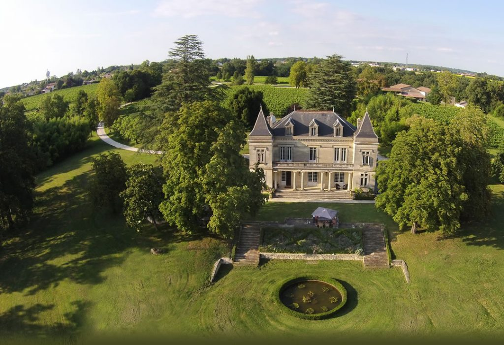 Gavin Quinney's picture postcard perfect Chateau Bauduc in the heart of Bordeaux