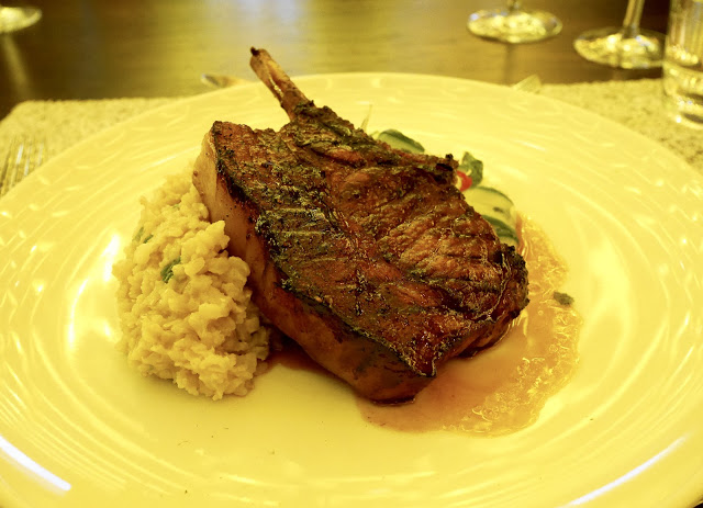 Japanese-style pork chop was the star of the show: Picture: dancing-in-high-heels.blogspot.co.uk