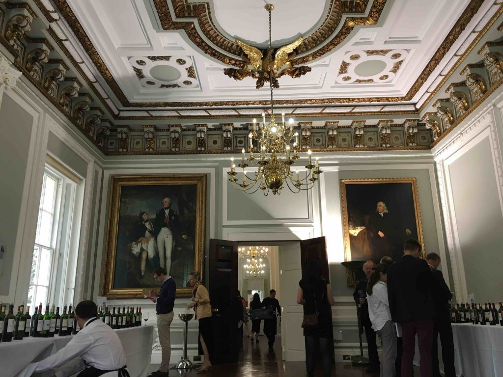 A grand setting for a grand tasting...The Royal Academy