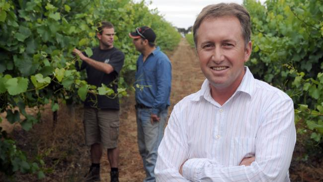 Ashley Ratcliff: one of the new breed of viticulturists in Australia