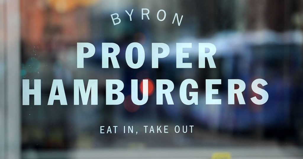 Byron is one of a number of major chains that have attracted investment in the last year
