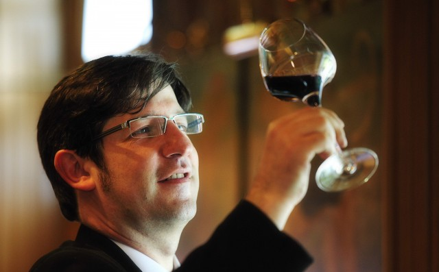 Zweibel is proud of the Alsace wines where he was born