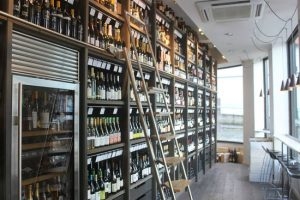 Manchester's Hangingditch renown for how good the wines look as well as how they taste