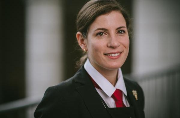 Argentine sommelier Paz Levinson who came fourth in the world finals