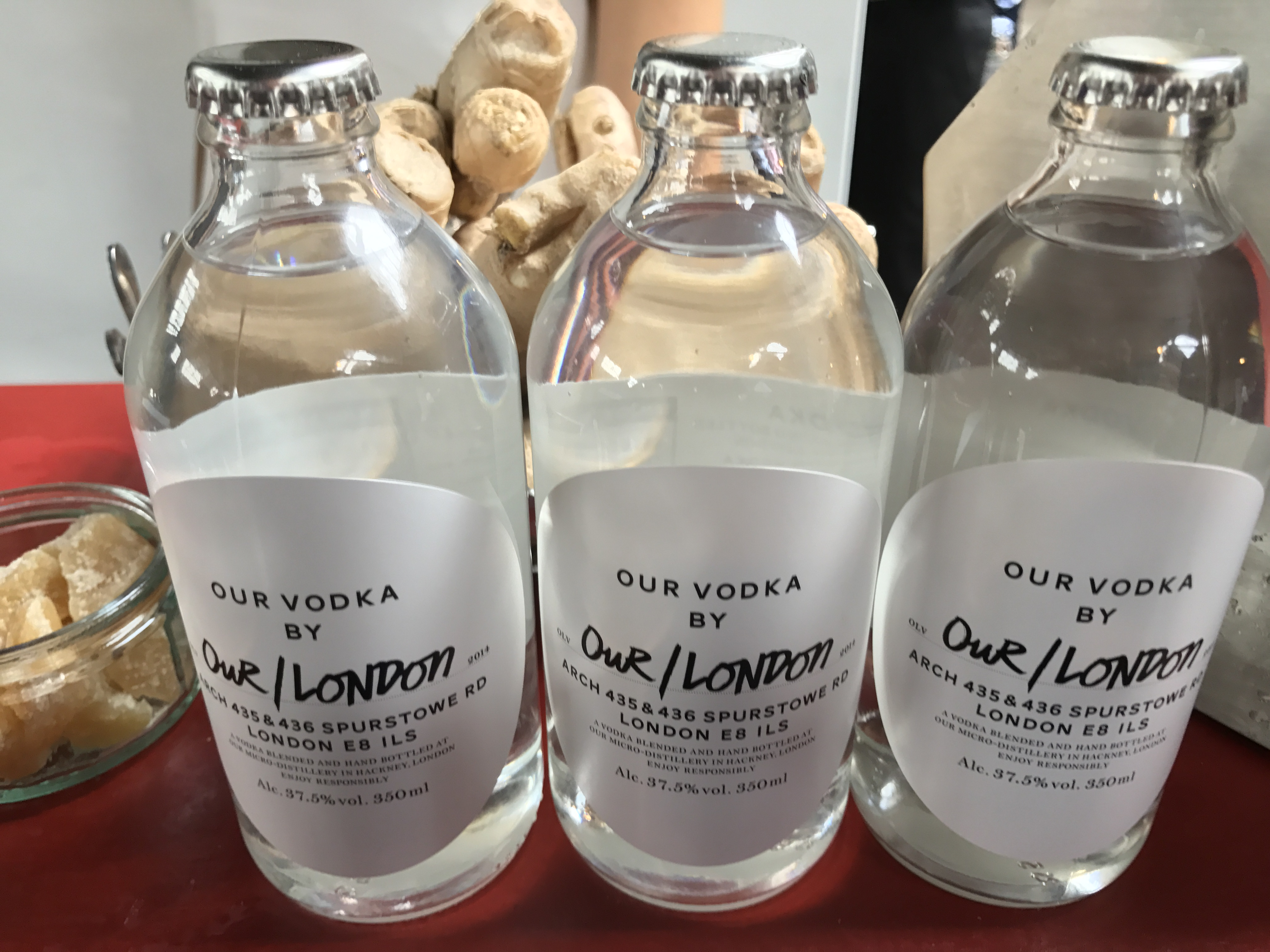 Our Vodka: local entrepreneurs and Pernod's Absolut vodka working together
