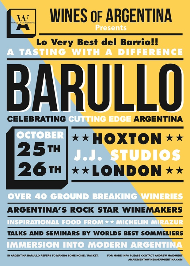 Burallo: a tasting to disrupt all others and promises to offer cutting edge Argentine food and wine