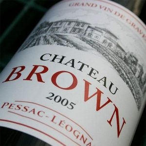 The UK is a key market for Chateau Brown along with Hong Kong and the US
