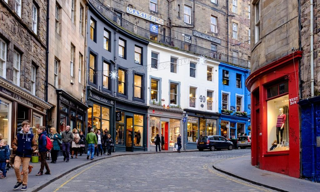Cities around the country, including Edinburgh, are now enjoying enormous growth in restaurants and bars, says Liberty