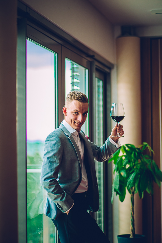 Piotr Pietras is pleased to be one of the team of sommliers behind Wines of Argentina's Barullo event