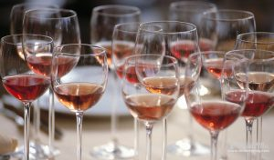 Rosé wine sales are doing well in the premium on-trade