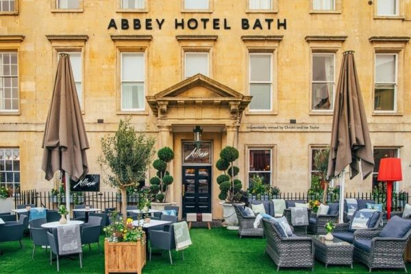 The Abbey Hotel is working hard to be the number one hotel in Bath