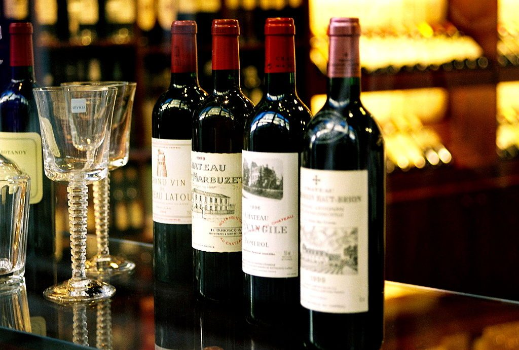 French wine prices are likely to be more expensive than some of their competitors