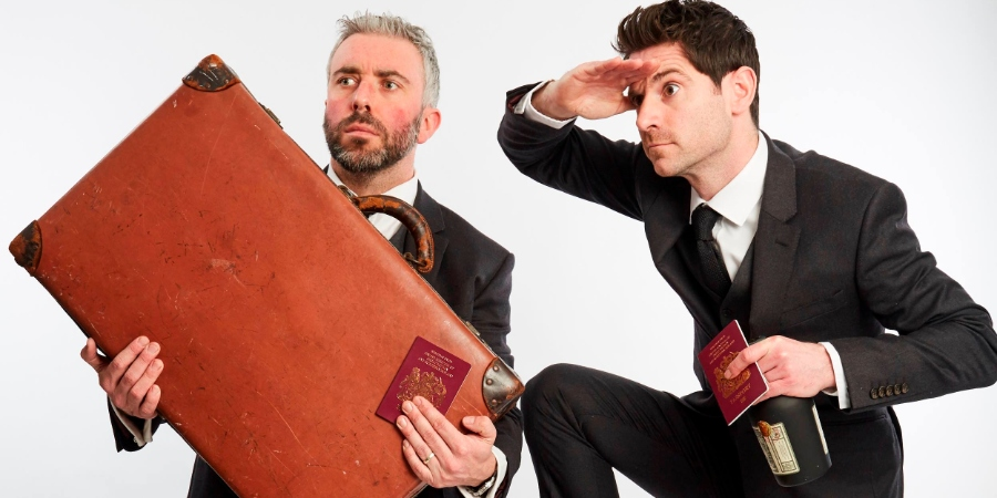 Ben McFarland, left, and Tom Sandham have put their words in to action with their own two man show on the world of drinks