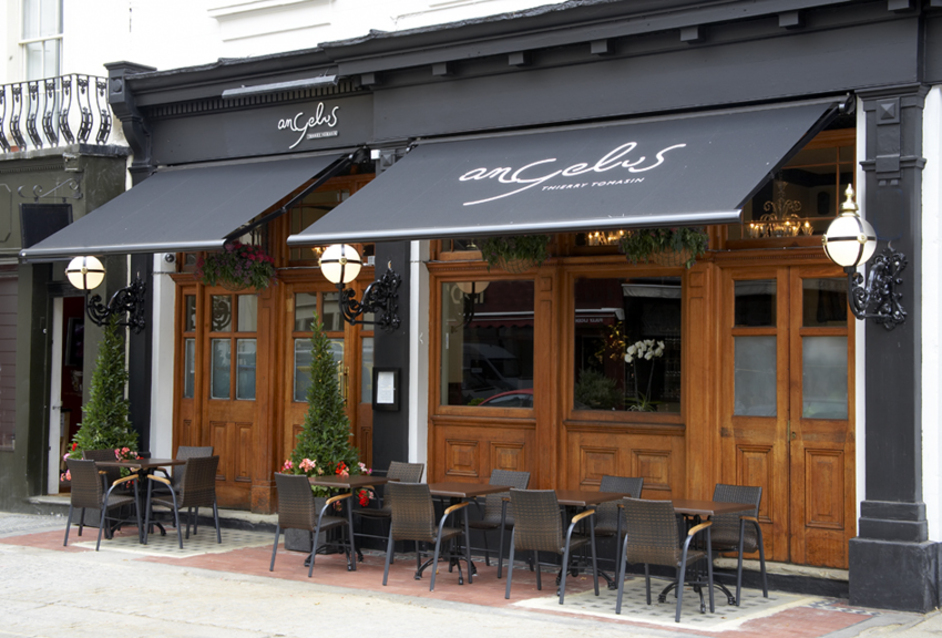 Angelus is one of the first restaurants to take on the Corkscrew app