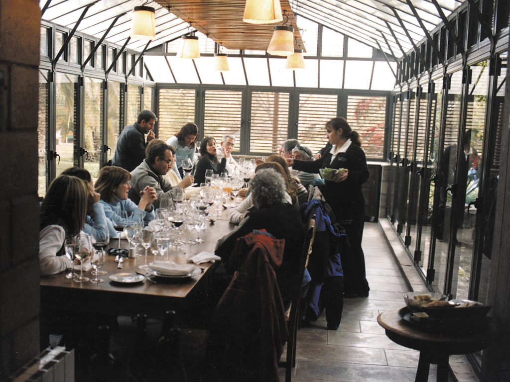 Zuccardi's restaurants are attracting local and foreign visitors and giving a chance to showcase local ingredients