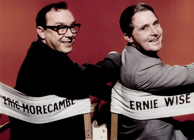 No room for Ernie Wise in Copestick's dream festive footy team, but Eric Morecambe comes in playing up front