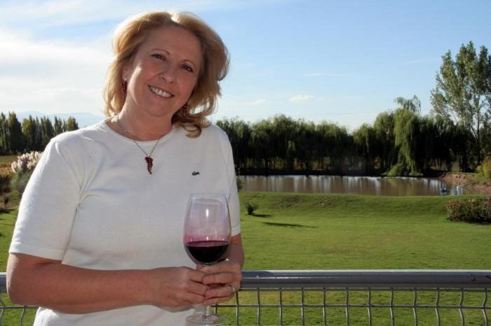 Susana Balbo is helping to set standards in winery restaurants as well as with her wines
