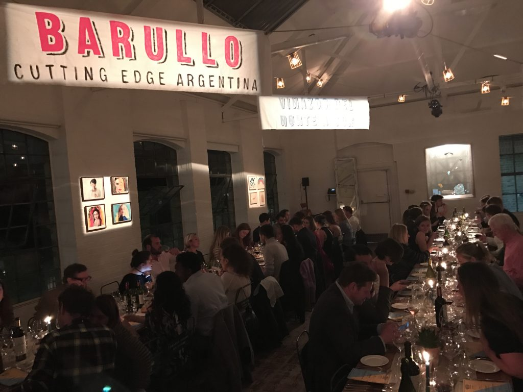 Wines of Argentina's Barullo event brought two star Michelin Argentine food to Hoxton over four nights