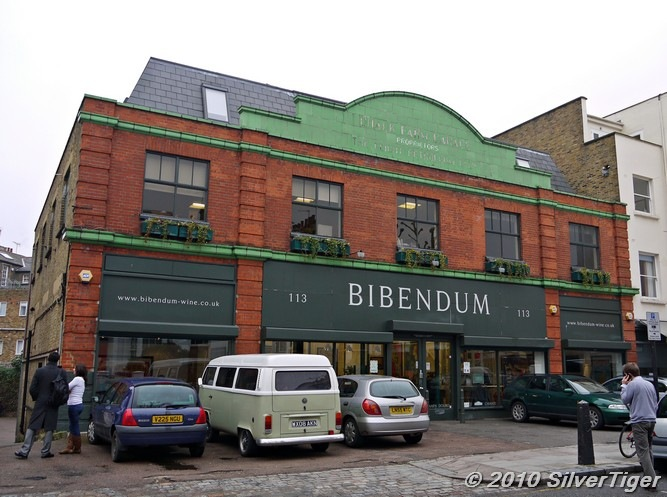 Bibendums Primrose Hill headquarters has seen more than its fair share of upheaval in 2018