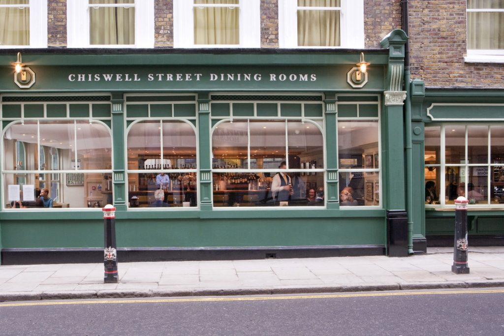 The ETM Group has shown the way forward with its food-driven pubs like Chiswell Street Dining Rooms