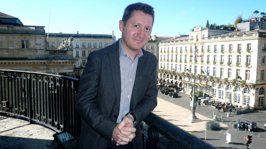 """Vinexpo's Guillaume Deglise believes this is a """"revolutionary approach"""" to bring buyers and producers closer together"""