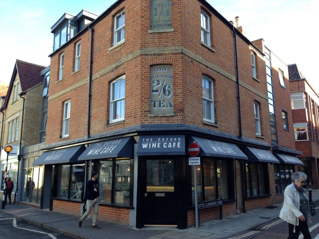 Its new central Oxford cafe and wine bar
