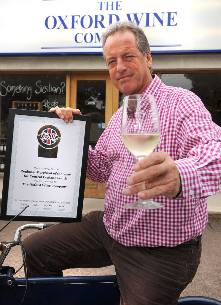 Another award for Sandbach and the Oxford Wine Company: photo by Denis Kennedy.