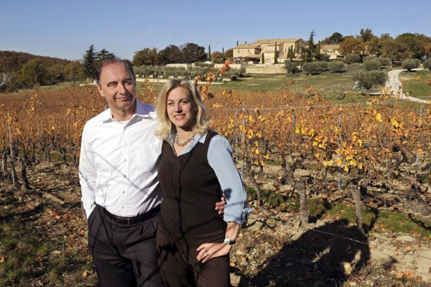 Xavier and Nicole Rolet have brought what the critics have dubbed Super Rhône status to the region