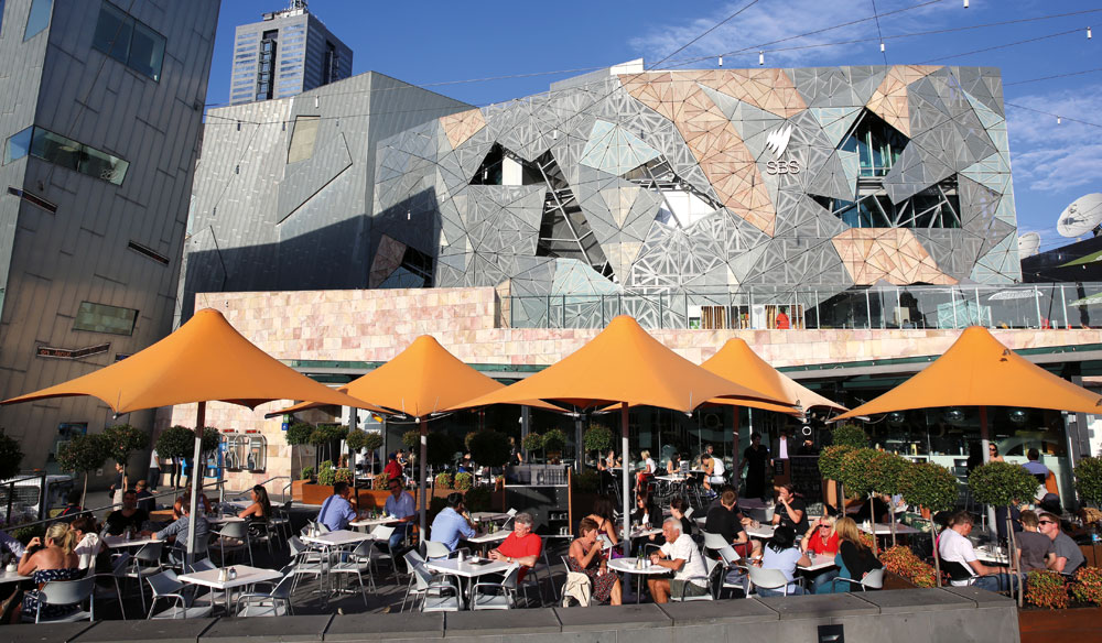 Big name restaurants in major cities like Melbourne are also keen to have major international wines on their lists
