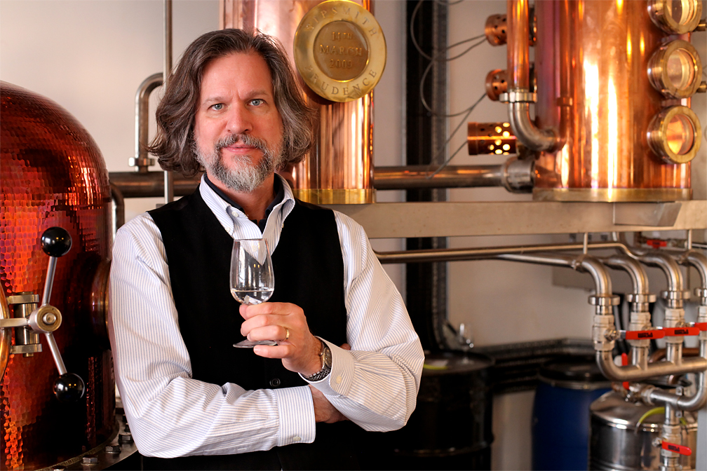 Gin's iconic distiller, Jared Smith, of Sipsmith shares his wisdom in the film