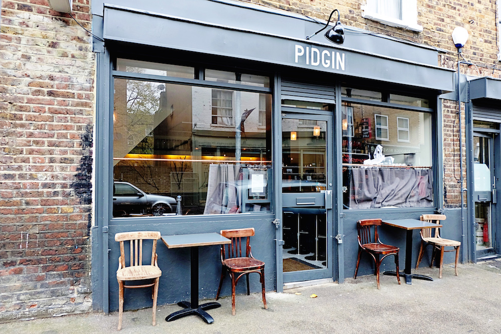 Different week, different wines at Pidgin in Hackney