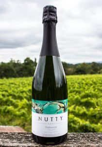 As English as they come...Nutty sparkling wine