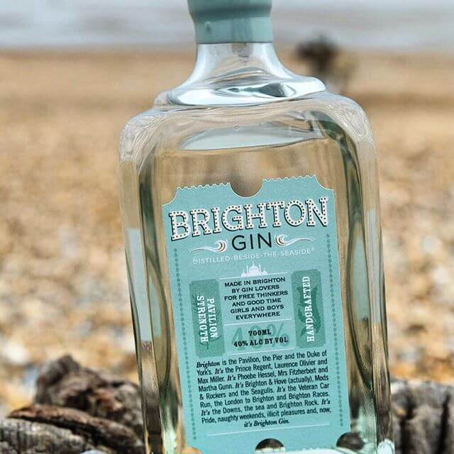 Brighton Gin...does exactly what is says on the tin