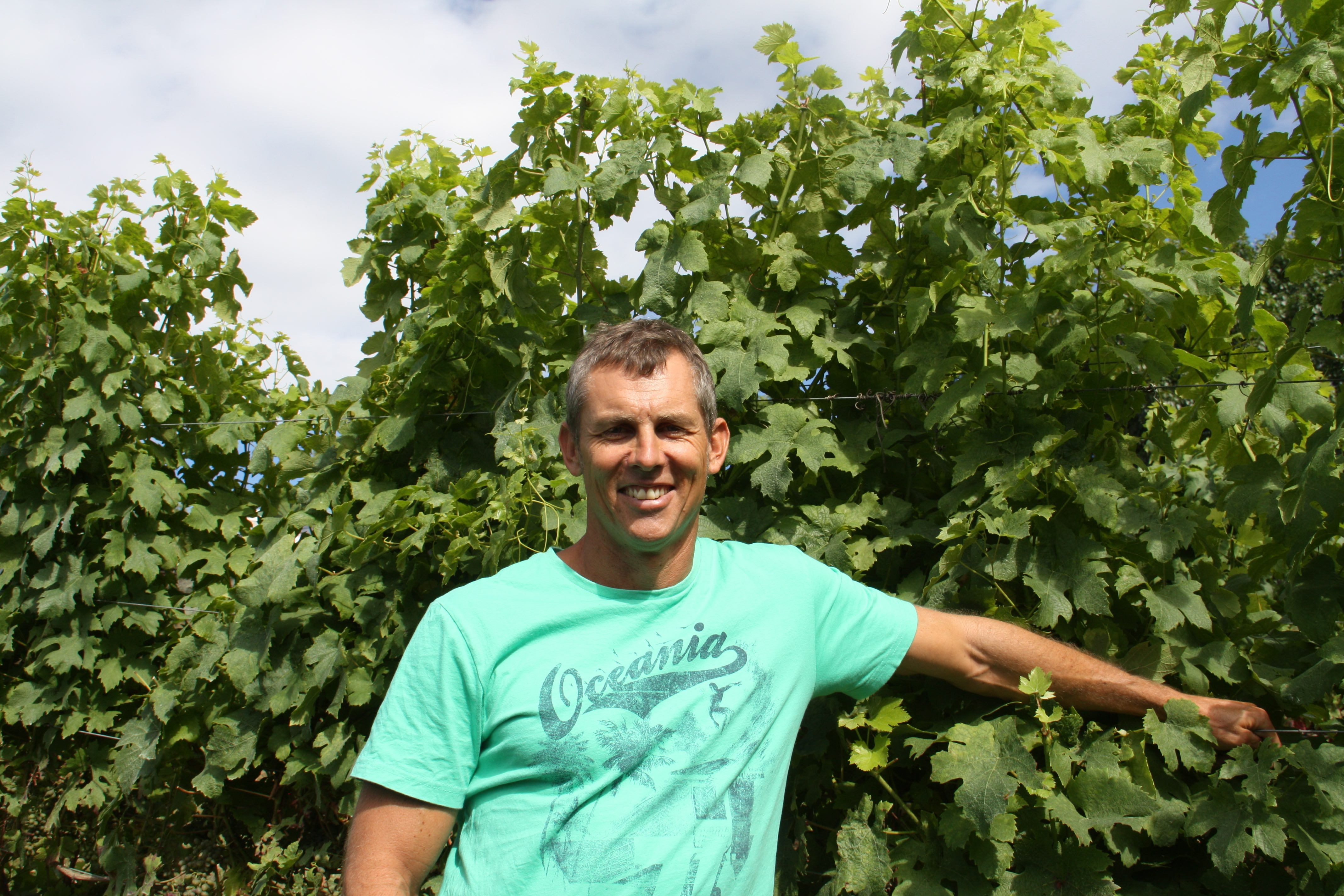 David Babich is very aware of the family traditions that he carries on in his winemaking