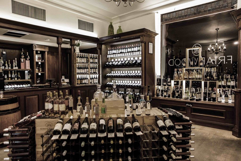 Friarwood has re-organised its wine displays to ensure rosé wines are prominent as soon as customers walk through the door.