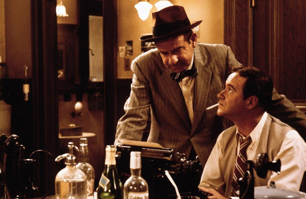 """""""You're cooking on gas!"""" The great Walter Matthau and Jack Lemmon in The Front Page"""