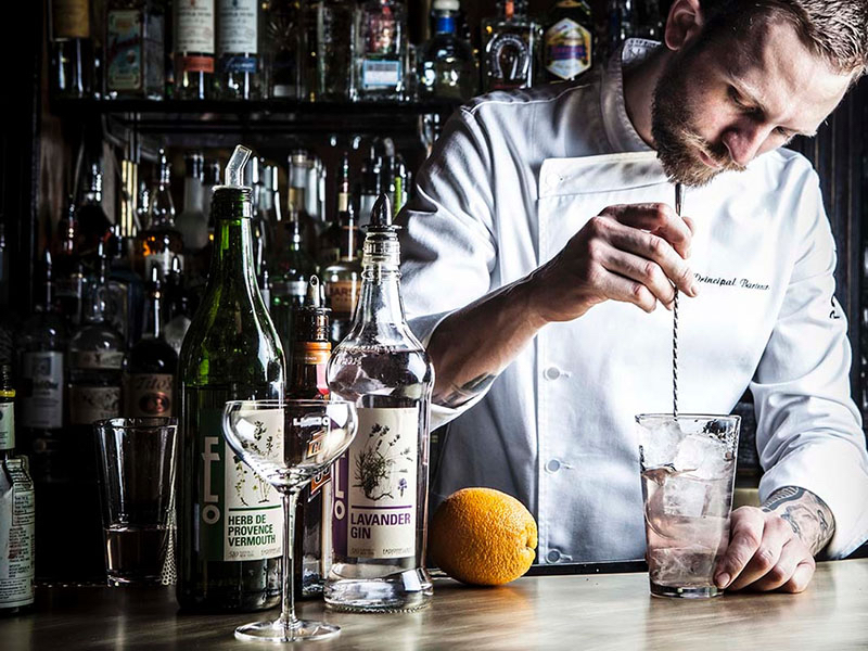 The craft, premium credentials of gin are keeping its momentum going, combined with theatre it helps brings to the gin and tonic experience in a bar