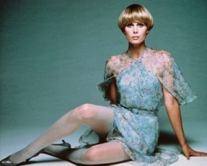 Joanna Lumley: perfect to share a glass of fizz with