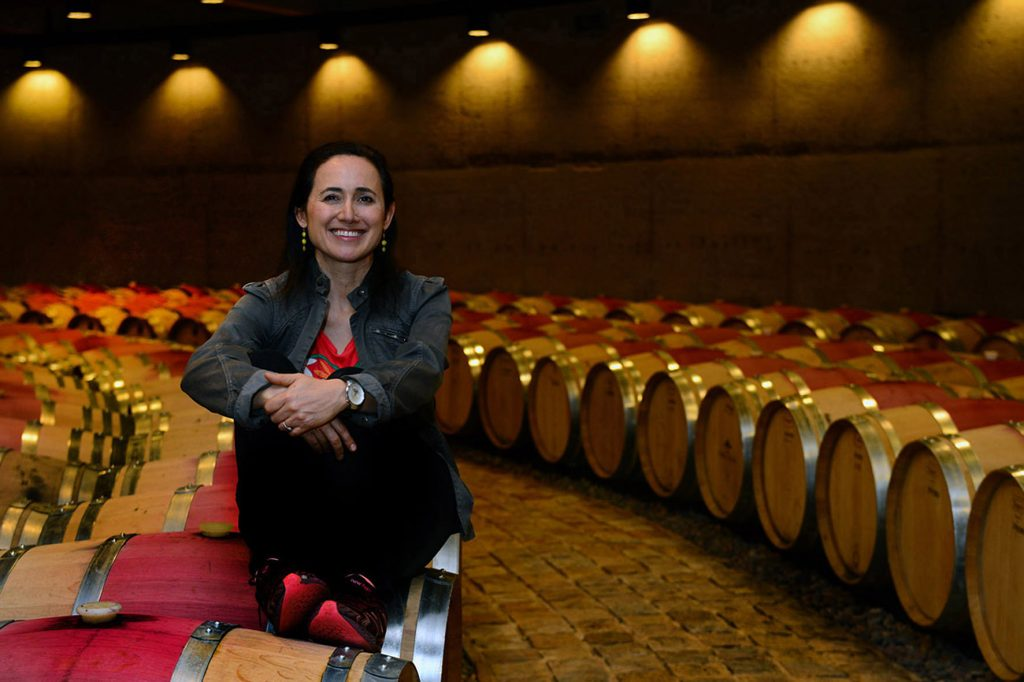 Laura Catena and the wines she hopes will age well for her children