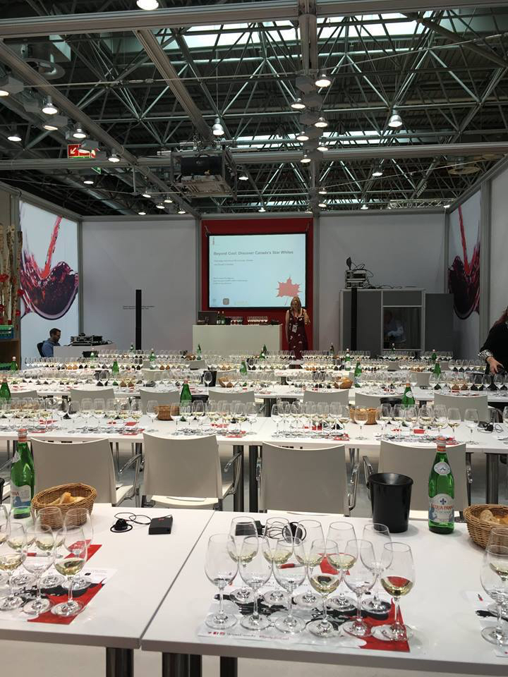 All ready to go for another Prowein masterclass